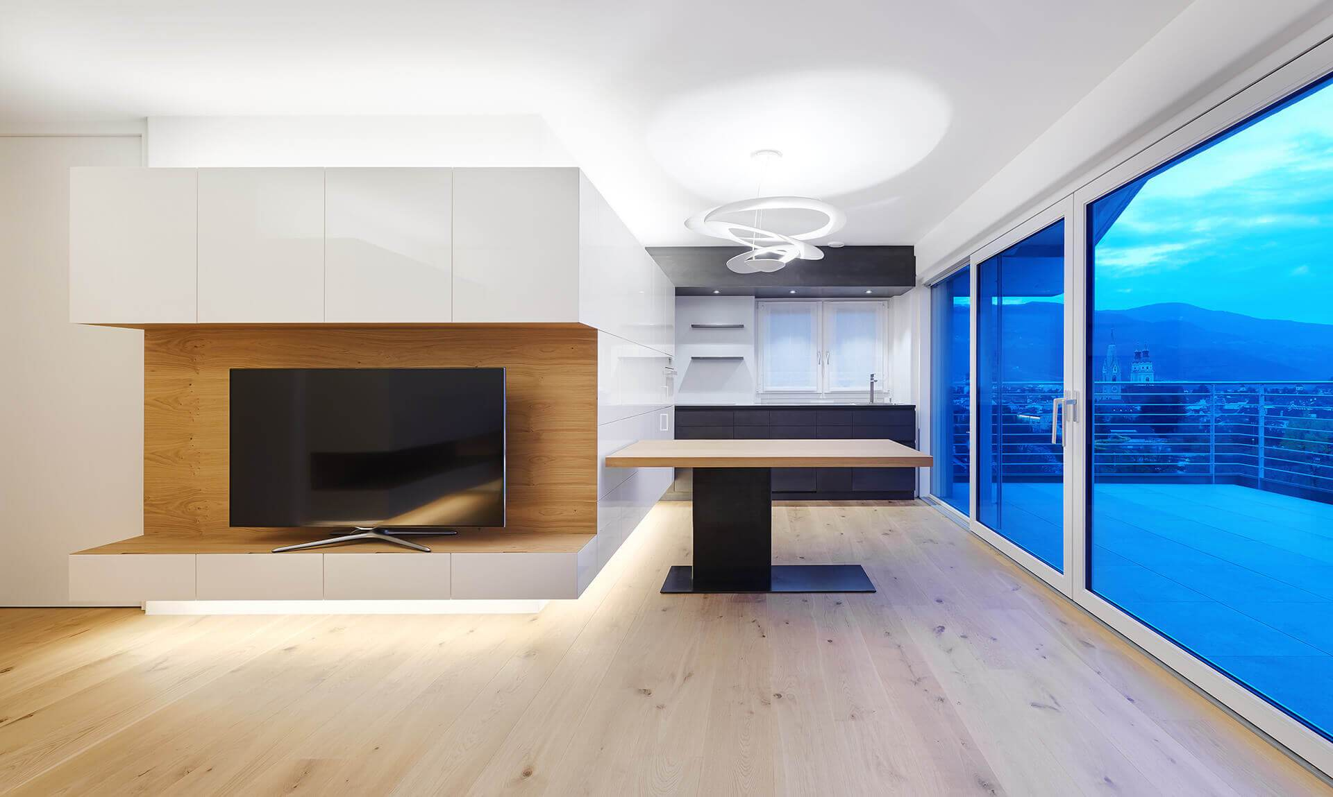 Wohnküche - Tischlerei Oberhuber